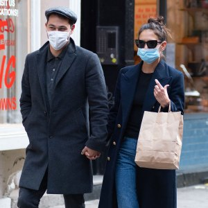 Katie Holmes and Emilio Vitolo Jr.'s Couple Style