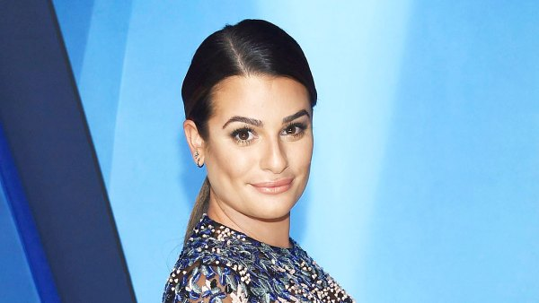 Lea Michele Shares Throwback Baby Bump Pic Taken One Day Before Sons Birth