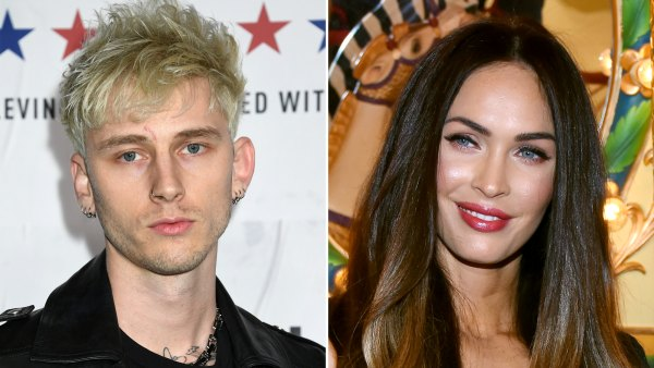 Machine Gun Kelly Celebrates Hearing His Song 'My Bloody Valentine' on the Radio With Megan Fox