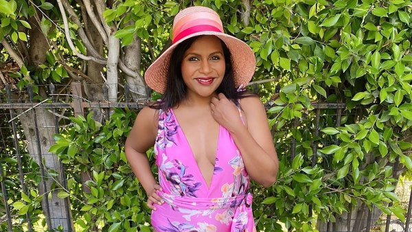 Mindy Kaling Celebrates the End of Summer With Swimsuit Shoot — See All the Pics