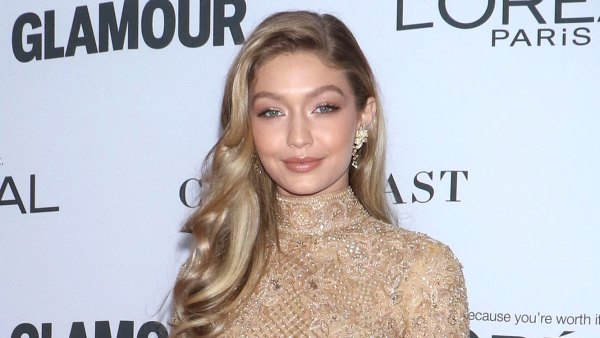 Pregnant Gigi Hadid Shows Off Bare Baby Bump Photos Amid Birth Speculation