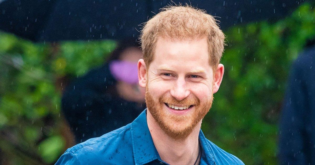 Prince Harry's New Haircut Is Seriously Sleek