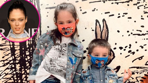 Coco Rocha Ioni and Iver Conran Masks
