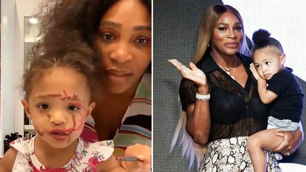 Serena Williams Cutest Moments With Her and Alexis Ohanian Daughter Olympia