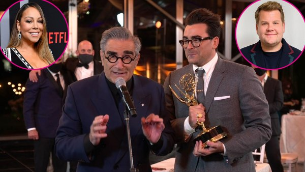 Stars Celebrate Schitts Creeks Emmys 2020 Wins 2020 Emmys