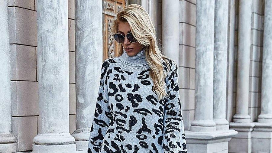 KIRUNDO Turtleneck Knitted Sweater