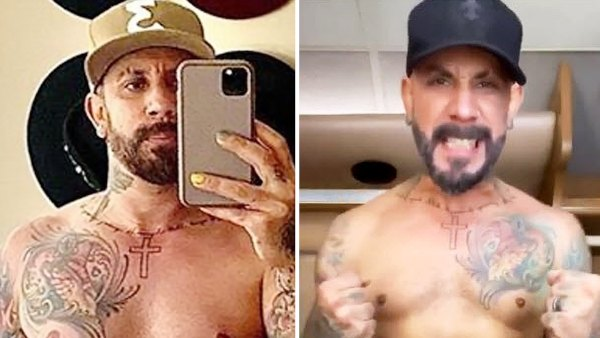 AJ McLean Reveals How Much Weight Hes Lost Since Joining DWTS