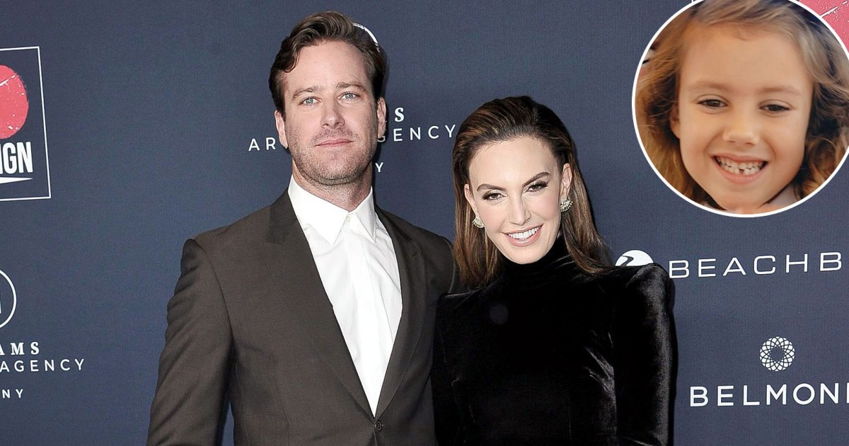 Armie Hammer and Elizabeth Chambers' Daughter Harper Loses Her 1st Tooth 1