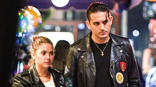 Ashley Benson and G-Eazy Twin in Leather Jackets for a Date Night