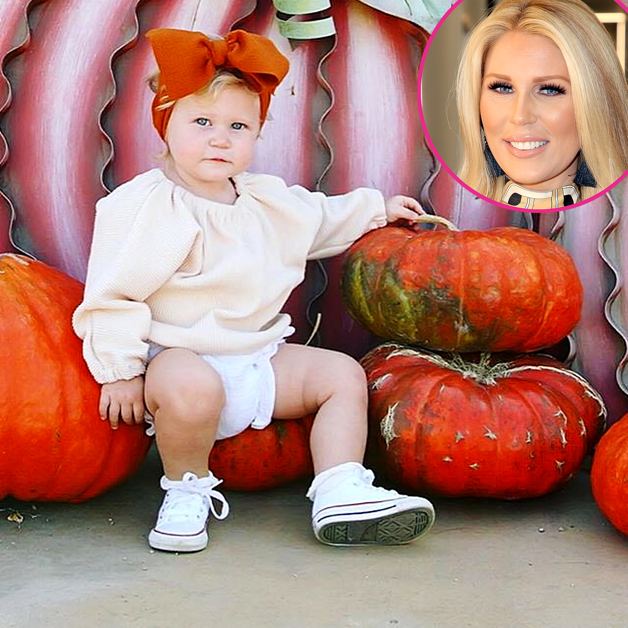 RHOC's Gretchen Rossi and More Parents Visiting Pumpkin Patches With Kids