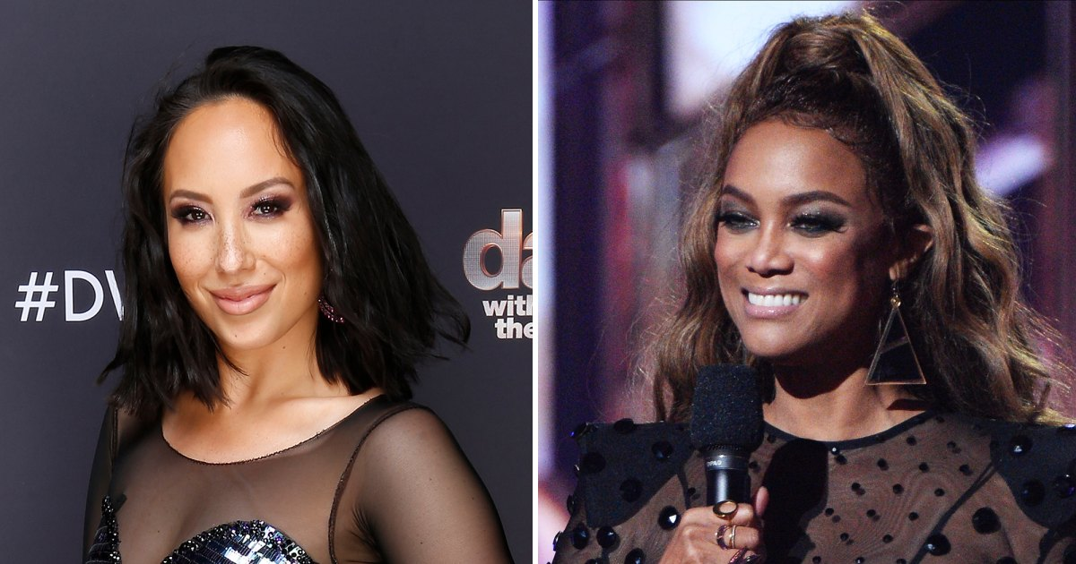 Cheryl Burke Applauds 'Very Real' Tyra Banks as 'Dancing With the Stars' Host - Us Weekly