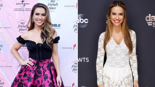 Chrishell Stause DWTS Body Transformation Side by Side