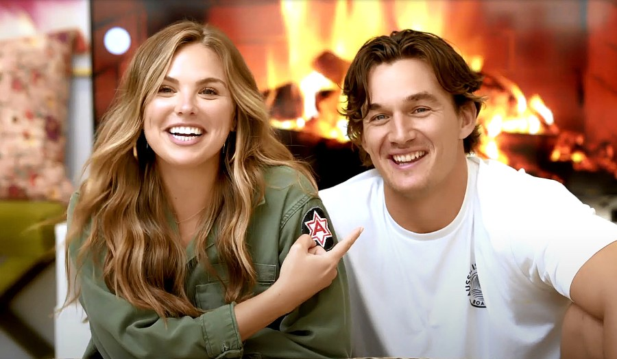 Hannah Brown Tyler Cameron Reflect How Their Relationship Has Changed Since Bachelorette New Video