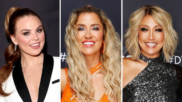Hannah Brown and Kaitlyn Bristowe Bond Over Carrie Ann's DWTS Judging