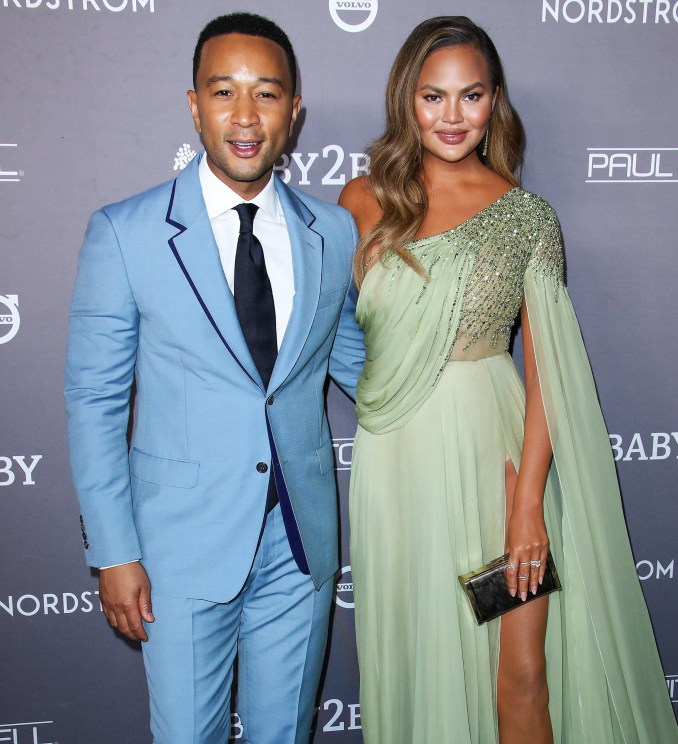 John Legend Writes Touching Message to Chrissy Teigen After Pregnancy Loss