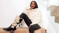 Kelly Rowland Stuns in JustFab Campaign: See Our Favorite Pics