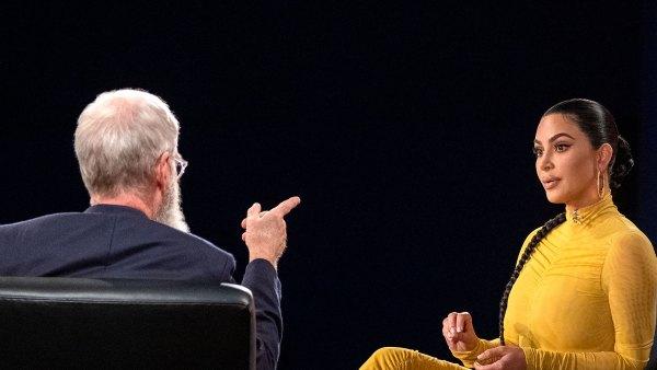 Kim Kardashian David Letterman Interview