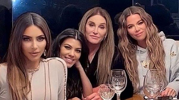 Kim Khloe Kourtney Kardashian Join Caitlyn Jenner Birthday Celebration