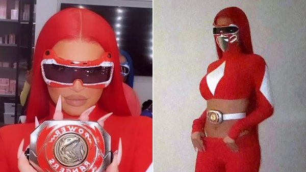 Kylie Jenner Power Ranger Costumes Is Crazy Sexy