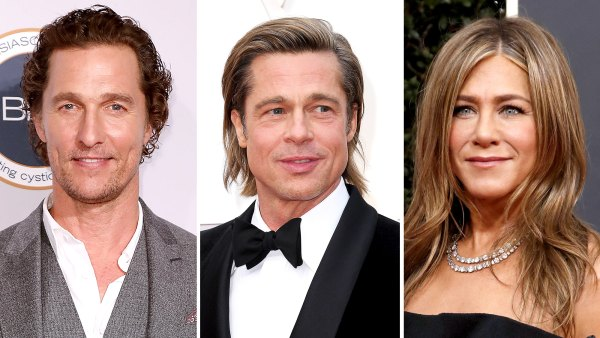 Matthew McConaughey on Sexual Tension Between Brad Pitt and Jen Aniston