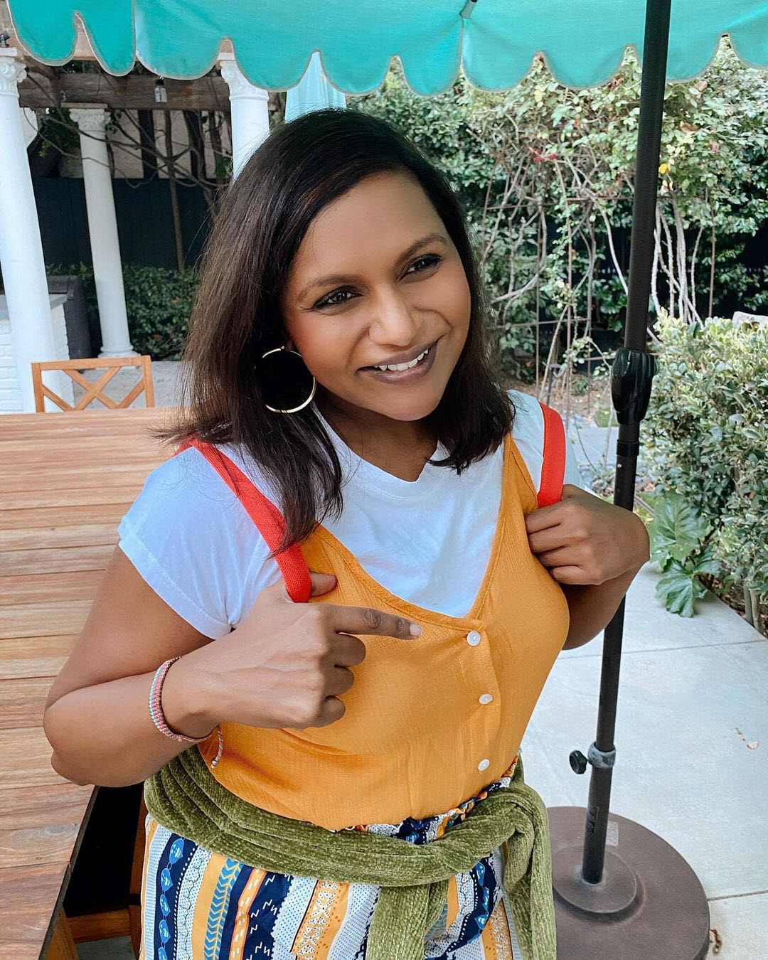 Mindy Kaling Dresses Up as 'Never Have I Ever' Character for Halloween