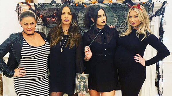 Pregnant Brittany Cartwright and Stassi Schroeder Show Bumps at Halloween Bash