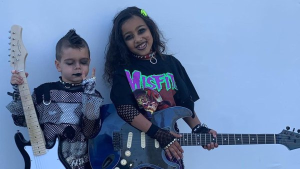 Reign and North Halloween 2020