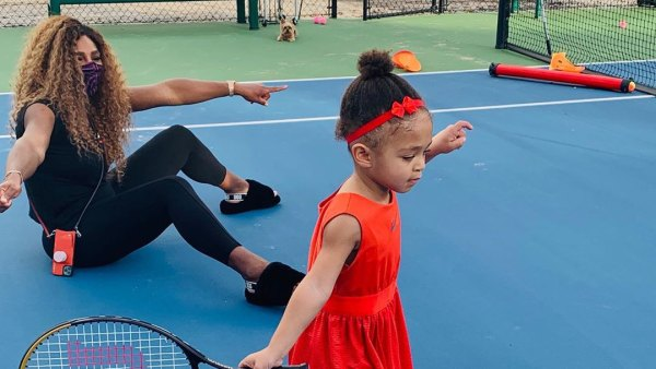 Tennis Time See Serena Williams' Cutest Moments With Her Daughter Olympia