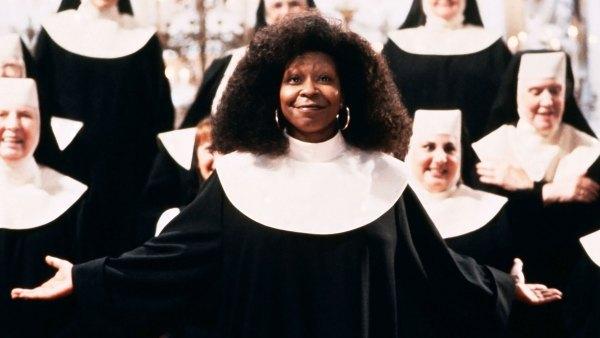 Whoopi Goldberg I Got Sick Sister Act Set Help Other Actresses
