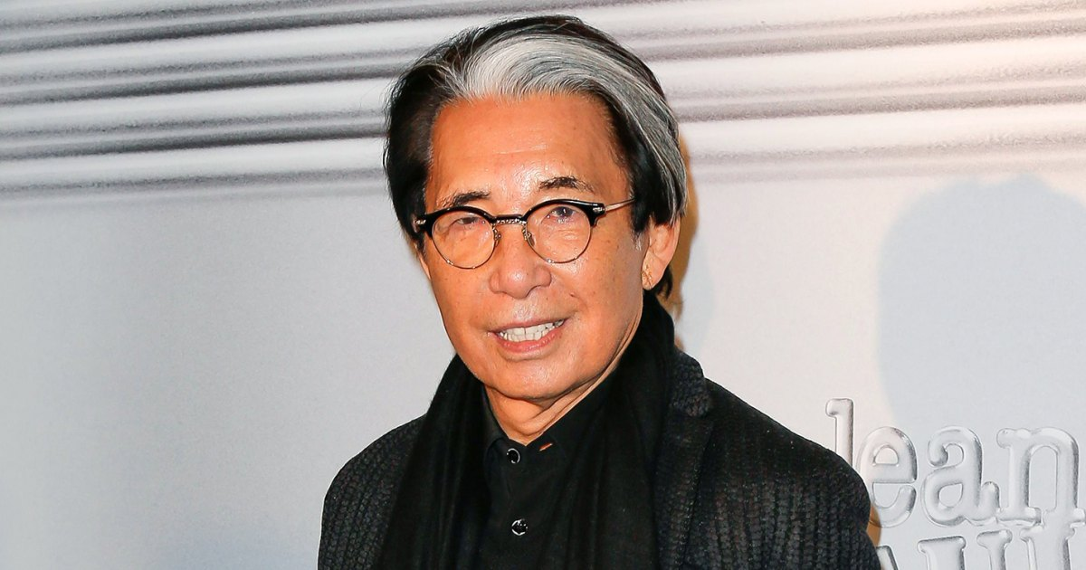 Fashion Designer Kenzo Takada and More Celebrity Deaths of 2020 1