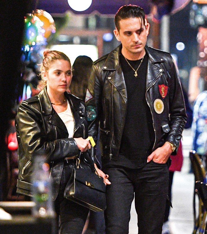 Ashley Benson and G-Eazy Are Super Serious After Bonding During COVID-19