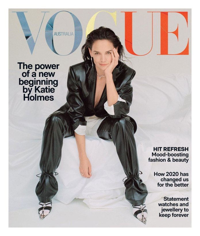 Emilio Vitolo Jr Celebrates His Katie Holmes New Australian Vogue Cover