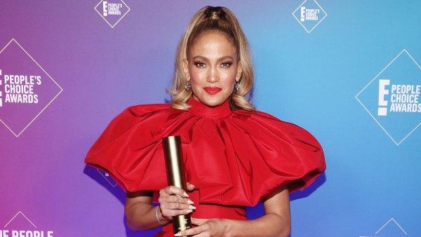 Jennifer Lopez Icon Award E! People's Choice Awards 2020