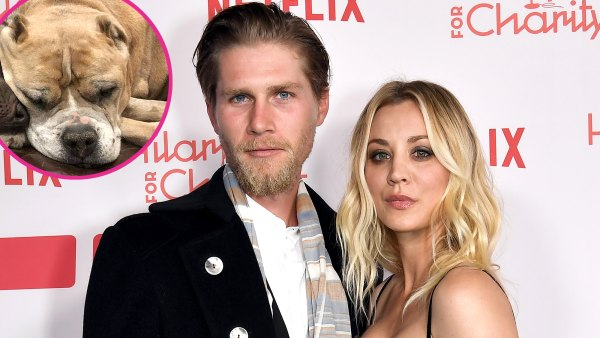 Kaley Cuoco Husband Karl Cook Mourn Death Their Rescue Dog Petunia