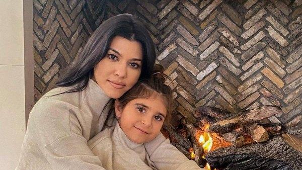 Kourtney Kardashian Daughter Penelope matching