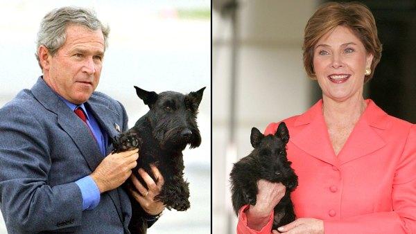 Pets White House Through Years George W. Bush