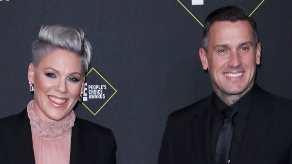 Pink and Carey Hart Son Jameson Rides Motorcycle