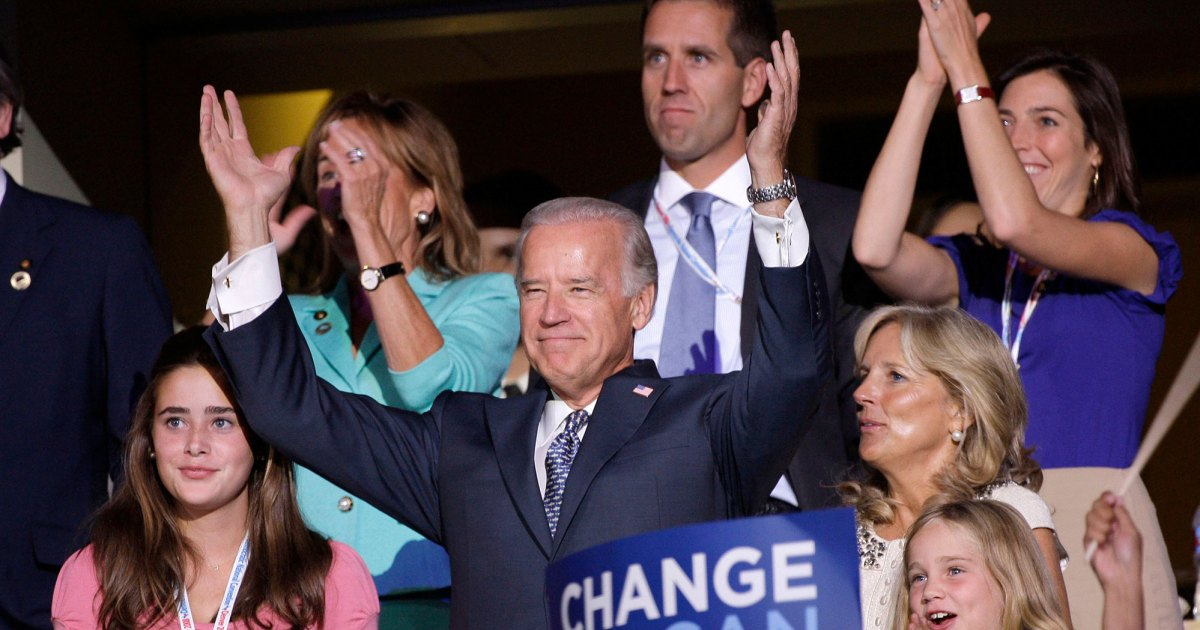 From Pops to President-Elect! See Joe Biden's Sweetest Family Pics 1