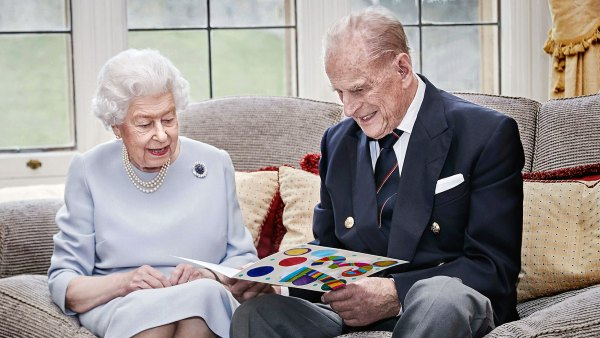Queen Elizabeth II and Prince Philip Celebrate 73rd Anniversary With Card From Their Great Grandkids