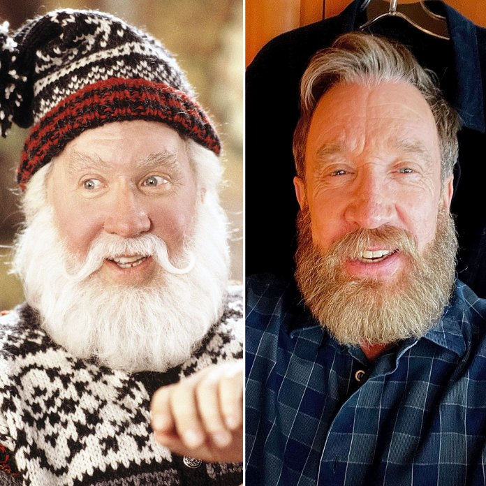 Tim Allen Channels His Iconic Santa Clause Character With Impressive New Beard
