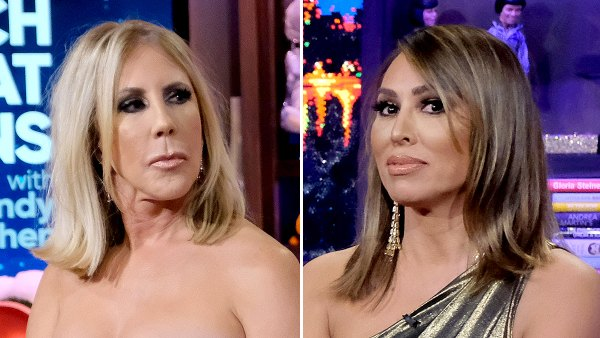 Vicki Gunvalson Slams Kelly Dodd after Kelly's mom gets COVID