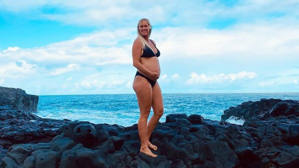 Surfer Bethany Hamilton, More Pregnant Stars Rocking Bathing Suits in 2020