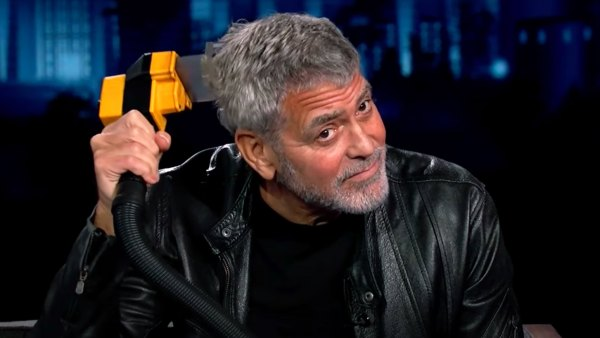 George Clooney Proves He's the Flowbee King on 'Jimmy Kimmel Live!'