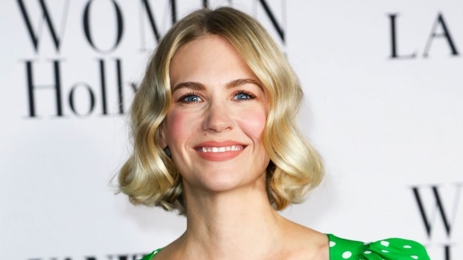 January Jones' New Arm Tattoo Is Super Sleek