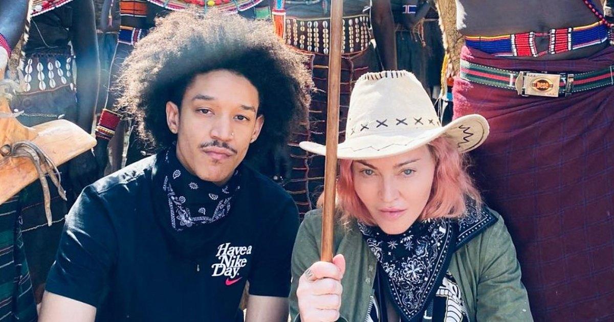 Enjoys to Kenya With 'Special' a Trip Madonna Boyfriend