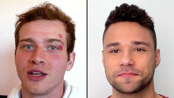 911 Oliver Stark and Lone Star Rafael Silva Share Secrets in TMI video