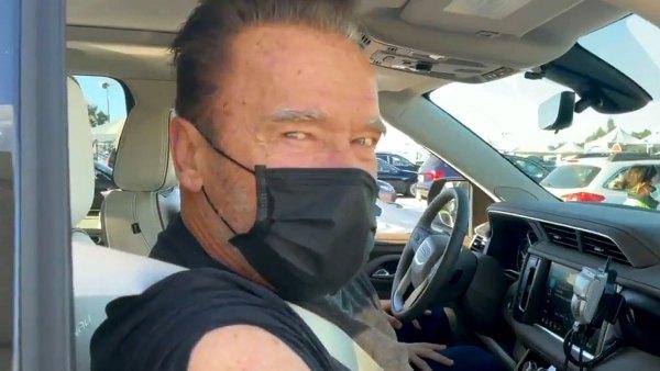 Arnold Schwarzenegger Shares Video Himself Getting COVID-19 Vaccine