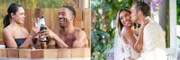 Matt James and Michelle on The Bachelor and Tayshia Adams and Zac C on The Bachelorette