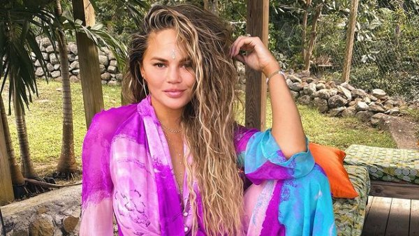 Chrissy Teigen Takes Up Horse Riding at Her Therapist's Suggestion and It Doesn't Go Smoothly