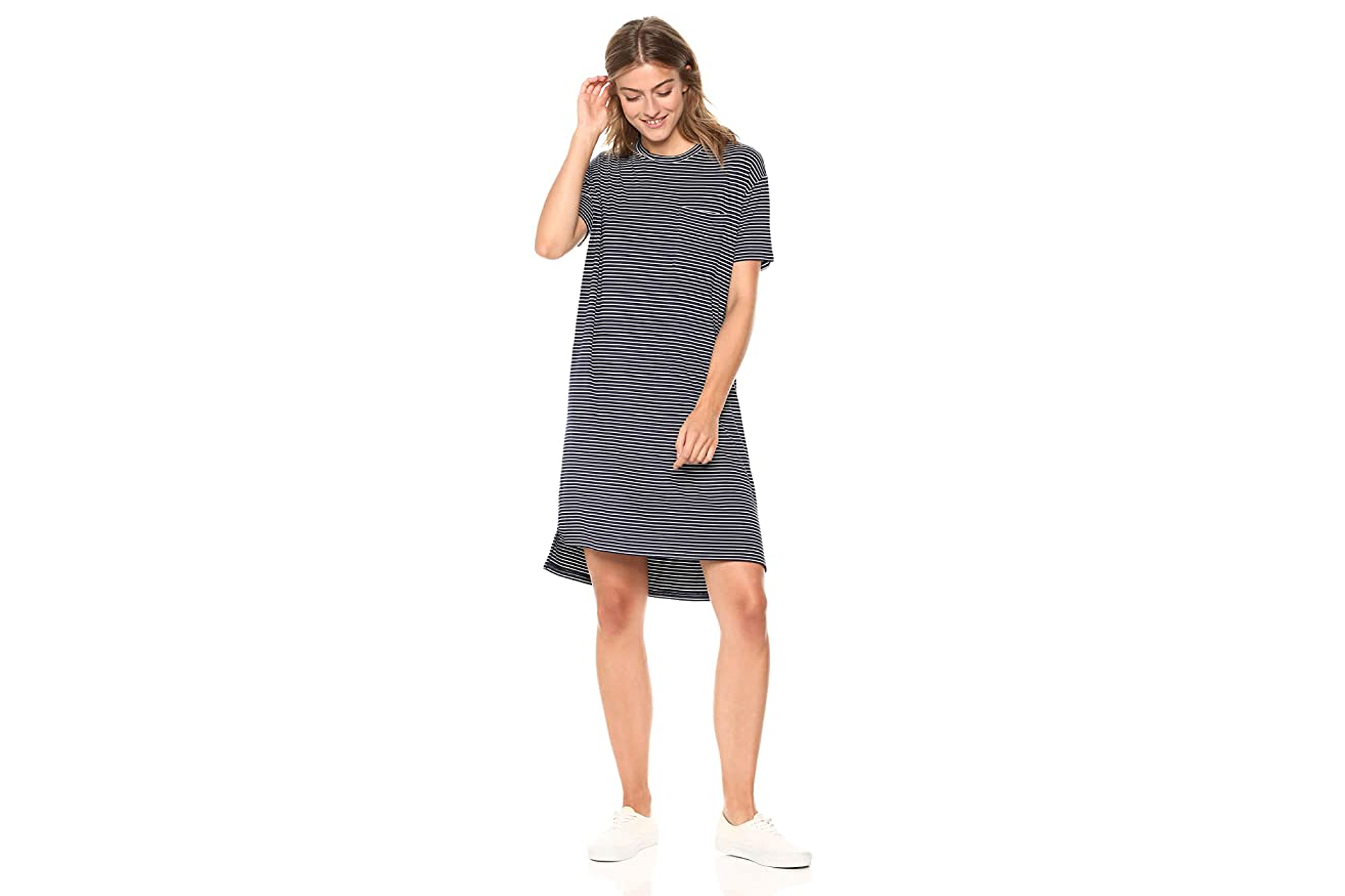 Daily Ritual Basic Staple T-Shirt Dress Is a Spring Fashion Must